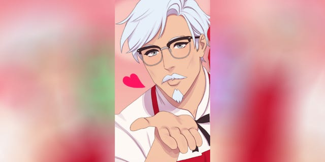 This KFC Colonel Sanders dating sim is totally real