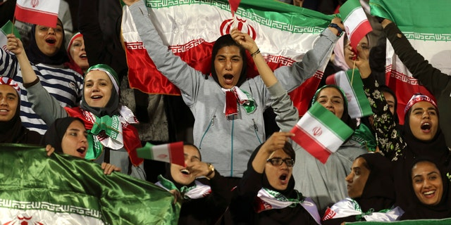 Westlake Legal Group IranSoccer1 Iranian female soccer fan 'blue girl' dies after setting herself on fire Travis Fedschun fox-news/world/world-regions/middle-east fox-news/world/conflicts/iran fox-news/world/conflicts fox-news/sports/soccer fox-news/sports fox news fnc/world fnc article 9809cc69-61eb-5605-9d9f-b887bf11618d
