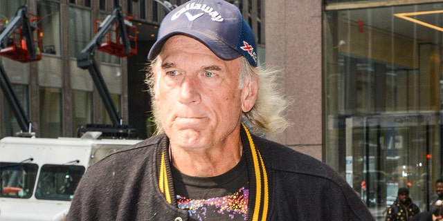 Professional wrestler Jesse Ventura leaves the Sirius XM Studios on October 13, 2015, in New York City. (Photo by Ray Tamarra/GC Images)