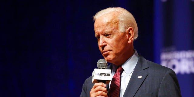 Democratic presidential candidate Joe Biden. (Rebecca F. Miller/The Gazette via AP)