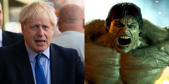 Using a comic book analogy, Prime Minister Boris Johnson likened the UK to the big green and routinely angry superhero, The Incredible Hulk, when discussing his efforts to have the country leave the European Union (EU) with or without a dealon Oct. 31.