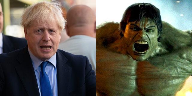 نخست وزیر بوریس جانسون با استفاده از قیاس کتاب طنز ، انگلیس را به ابرقهرمان بزرگ سبز و روتین عصبانی ، The Incredible Hulk ، هنگام بحث و گفتگو درباره تلاش های خود برای خروج کشور از اتحادیه اروپا (اتحادیه اروپا) با یا بدون توافق در تاریخ 31 اکتبر تشبیه کرد. .