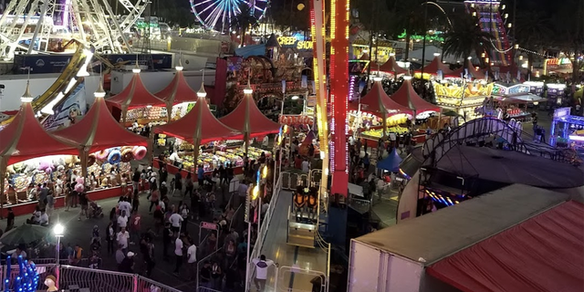 Erik Villasenor, 22, allegedly told police someone planned a mass shooting at the Los Angeles County Fair in Pomona, Calif., authorities said.