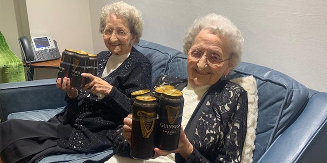 """According to Lil, a big key to living a long life is """"no sex and plenty of Guinness."""""""