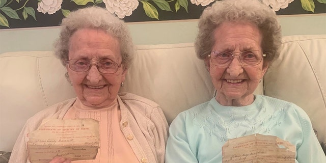 The happy-go-lucky elderly sisters, who live next door to each other, have become unexpected viral hits after recently discovering Facebook.