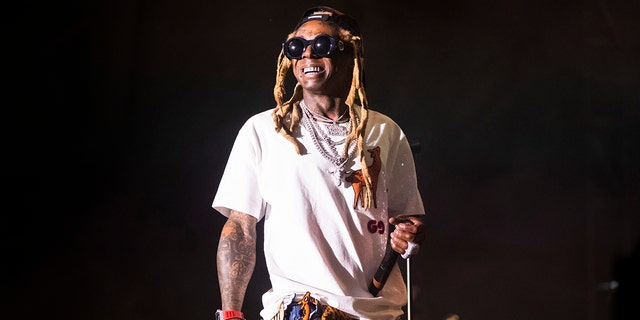 Lil Wayne will perform on Friday, Jan. 31. (Sophia Germer/The Advocate via AP)