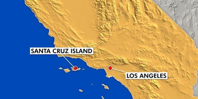 Westlake Legal Group MAP_CA_LOS_ANGELES_SANTA_CRUZ_ISLAND 34 people killed after boat catches fire off California's Santa Cruz Island: officials Robert Gearty fox-news/us/us-regions/west/california fox news fnc/us fnc article 3bac2904-9a74-5730-916f-7e6319379884