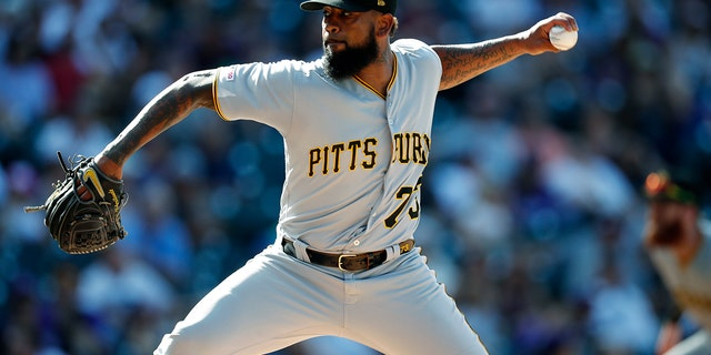 Westlake Legal Group MLB-Felipe-Vazquez Pittsburgh Pirates' Felipe Vazquez met alleged victim at ballpark, visited her at home: report Ryan Gaydos fox-news/us/us-regions/southeast/florida fox-news/us/crime/sex-crimes fox-news/sports/mlb/pittsburgh-pirates fox-news/sports/mlb fox news fnc/sports fnc ea17bdc3-16c9-529c-a83a-17e3637a75ee article