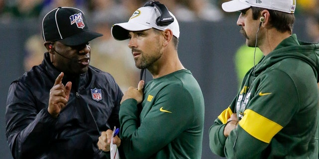 Aaron Rodgers and Matt LaFleuer are hoping the Super Bowl is within their grasp this season. (AP Photo/Mike Roemer)