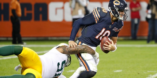 Westlake Legal Group NFL-Mitchell-Trubisky2 Green Bay Packers' Tramon Williams takes shot at Chicago Bears' Mitchell Trubisky after win Ryan Gaydos fox-news/sports/nfl/green-bay-packers fox-news/sports/nfl/chicago-bears fox-news/sports/nfl fox news fnc/sports fnc bc9ea88c-2dbf-5e7a-97c3-21d4b95ad57a article