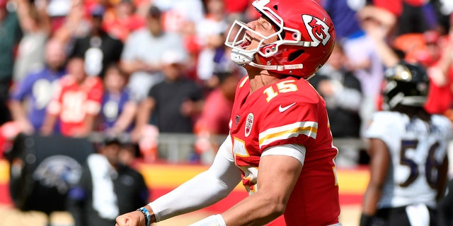 Kansas City Chiefs of MVP MVP Patrick Mahomes visit Detroit Lions on FOX on Sunday. (Photo AP / Ed Zurga)