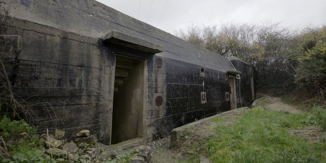 The exterior of a Maisy Batteries bunker. (Science Channel)