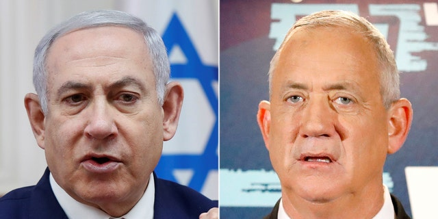 Netanyahu's conservative Likud party and challenger Gantz's centrist Blue and White party failed to win enough votes in the repeat election to form a coalition government of at least 61 seats in Israel's 120-seat parliament.