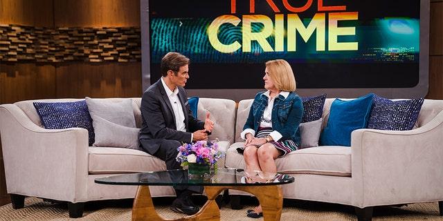 Dr. Oz speaking with Karen Pryor.