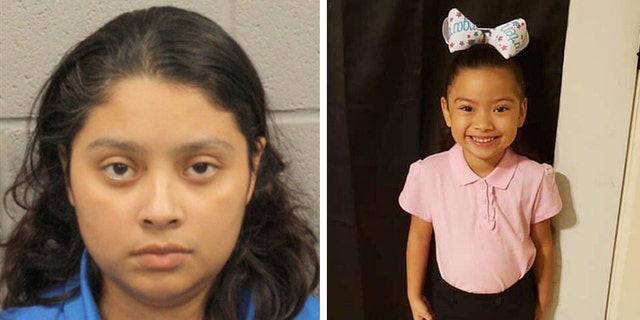 The mother of a 5-year-old girl whose body was found in a Houston apartment closet was charged Tuesday with evidence tampering, police said. (Harris County Jail – Facebook)