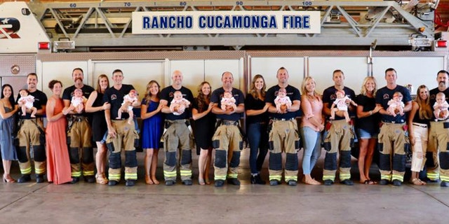 Westlake Legal Group RCFD-Babies-2 California fire department welcomes 9 babies in 5 months fox-news/us/us-regions/west/california fox-news/us/personal-freedoms/proud-american fox-news/tech/topics/viral fox-news/health/reproductive-health/pregnancy fox-news/health/healthy-living/childrens-health fox-news/good-news fox news fnc/health fnc article Alexandria Hein 4047a402-1536-5eef-9767-c4cafbf017c1