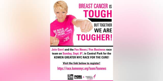 Westlake Legal Group Race-For-The-Cure-Poster-003 Gerri Willis: I thought my cancer journey was over. I was wrong Gerri Willis fox-news/opinion fox-news/health/cancer/breast-cancer fox-news/health/cancer fox-news/health fox news fnc/opinion fnc c401dbfa-5eb8-588a-8a12-480c02ad336c article