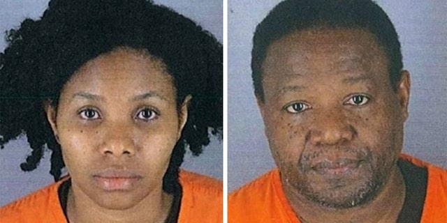 Sabina Pierre Louis, left, and Eddy Pierre Louis. (Hennepin County Jail)
