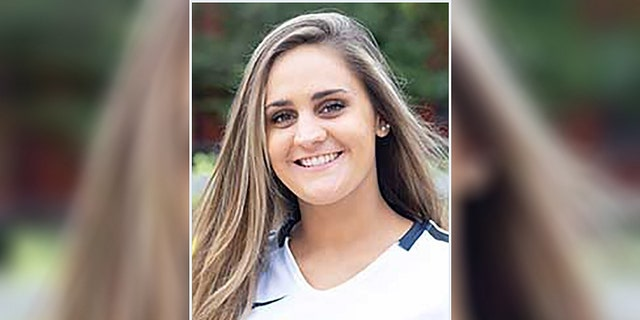 Shelby Lee Meyer, 21, died on Saturday after falling off a ladder at an off-campus apartment building, officials said.