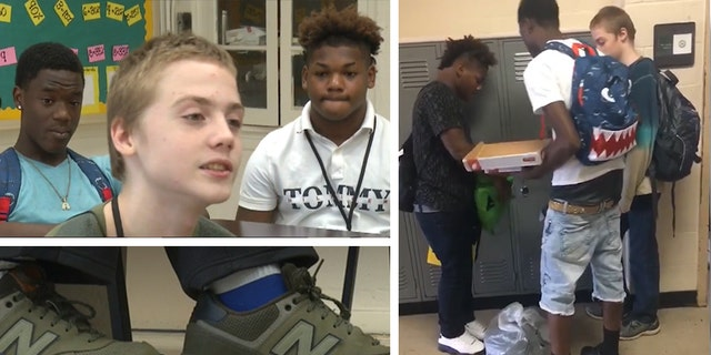 A Tennessee high school student who reportedly was bullied for wearing the same clothes every day was gifted new attire by his classmates.
