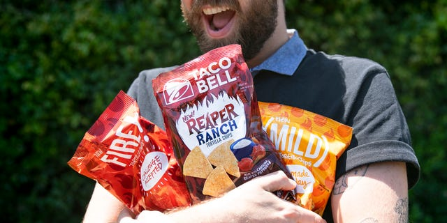 The Reaper Ranch Tortilla Chips join Taco Bell's retail chip line-up.