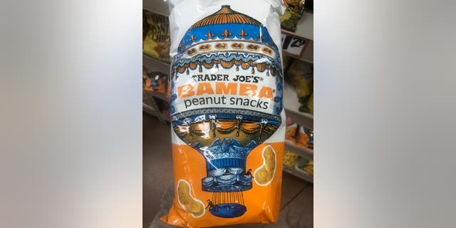 PETA shared an updated photo of Trader Joe's Bamba peanut snacks in the grocery store.