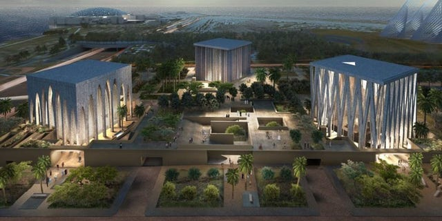 The Abrahamic Family House to be built in Abu Dhabi, UAE.