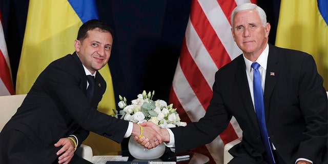 Westlake Legal Group Ukraine-Pence Trump administration lifts hold on $250M in military aid for Ukraine Morgan Phillips fox-news/world/world-regions/russia fox-news/world/conflicts/ukraine fox-news/politics/senate fox-news/politics/foreign-policy/alliances fox-news/politics/foreign-policy/aid fox-news/person/donald-trump fox news fnc/politics fnc article 67d11493-78a5-57b3-ab92-91c74a9b617a