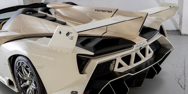 Lamborghini sold nine Veneno Roadsters for $4.5 million each.