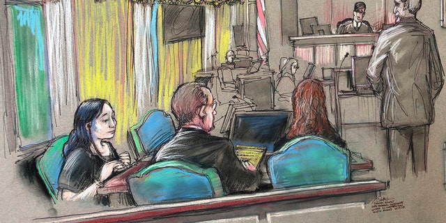 Westlake Legal Group Yujing-Zhang-court-sketch Testimony details 'weird and strange' behavior of Chinese woman arrested at Mar-a-Lago Stephen Sorace fox-news/us/us-regions/southeast/florida fox-news/us/crime/trials fox news fnc/us fnc article ab0bb6e3-3737-543b-9eea-24017b99670d