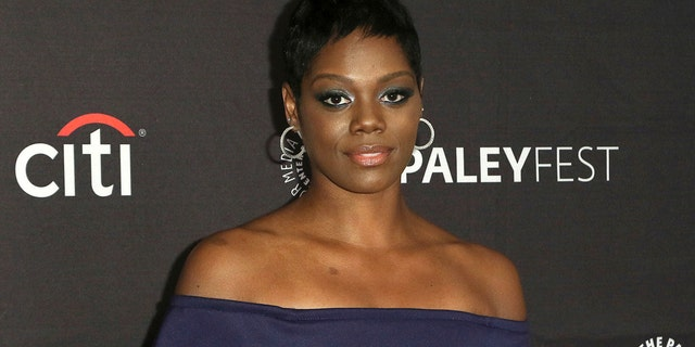 "This Sept. 8, 2018, file photo shows Afton Williamson attending the PaleyFest Fall TV Previews of ""The Rookie"" at The Paley Center for Media in Beverly Hills, Calif. The producer of ABC's ""The Rookie"" says actress Williamson's claims of on-set misconduct against her weren't substantiated by an independent investigator."