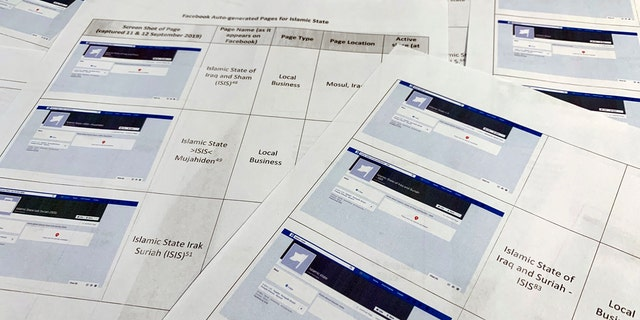 Pages from a confidential whistleblower's report obtained by The Associated Press, are photographed in Washington, on Tuesday, Sept. 17, 2019. (AP Photo/Jon Elswick)