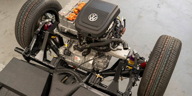 VW Bug charges into the future with electric drivetrain