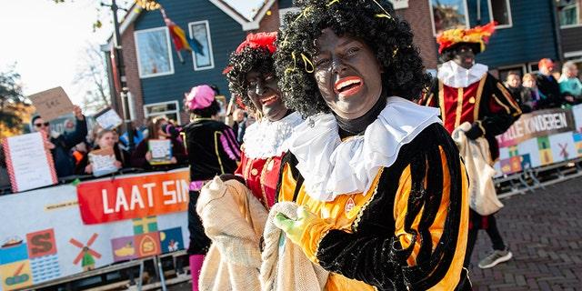 Westlake Legal Group black-petes-parade-Getty Dutch blackface holiday characters to get 'sooty faces' amid public backlash: report fox-news/world/world-regions/europe fox news fnc/world fnc Bradford Betz article 8c2ae1bd-c725-5edb-b9b3-93581937b4fc