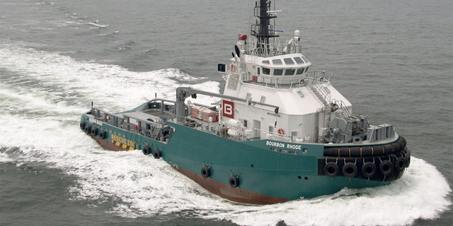The tug supply vessel Bourbon Rhode was built in 2006.
