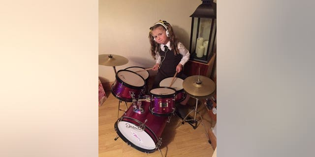 She was diagnosed with DPIG just four days after turning 7.