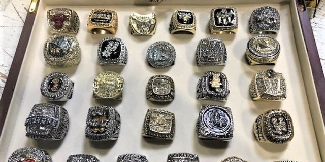 Westlake Legal Group ceda1145-Championship20Rings20Photo201 More than two dozen fake NBA championship rings seized at LA airport, CBP says Talia Kaplan fox-news/us/us-regions/west/california fox-news/us/us-regions/west fox-news/us/us-regions/southwest/arizona fox-news/sports/nba fox news fnc/us fnc article 91e30eb8-131f-5fbd-93f4-29983e817f07