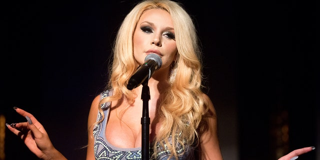 Courtney Stodden performing in L.A. last year.