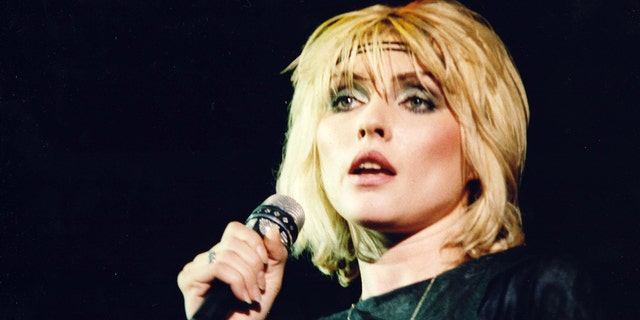 Debbie Harry of Blondie performs on stage at Hammersmith Odeon on Jan. 11, 1980 in London. In her new memoir, she details her experiences with sex, drugs and rock n' roll in the early days of Blondie.