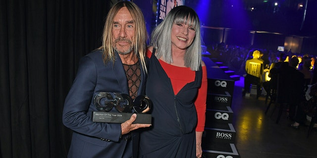 Iggy Pop, winner of the GQ Lifetime Achievement Award, and Debbie Harry attend the the GQ Men Of The Year Awards on Sept. 3, 2019 in London.