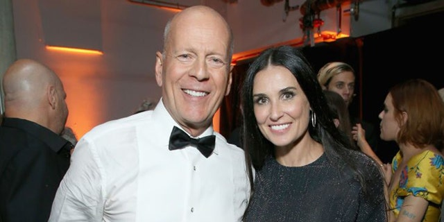 Bruce Willis and Demi Moore are self-isolating with their daughters amid the coronavirus pandemic.