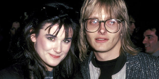 "Demi Moore and Freddy Moore during ""Fridays"" Wrap Party at ABC Studios in Los Angeles."