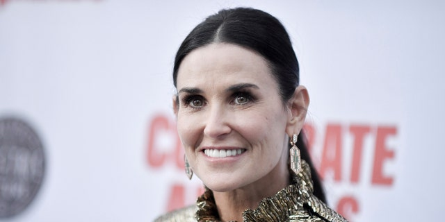 Demi Moore attends the LA premiere of 'Corporate Animals' at NeueHouse on Wednesday, Sept. 18, 2019, in Los Angeles.