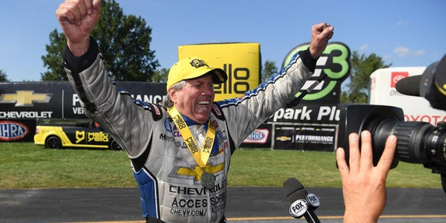 John Force wins 151st NHRA Funny Car event at 70 | Fox News