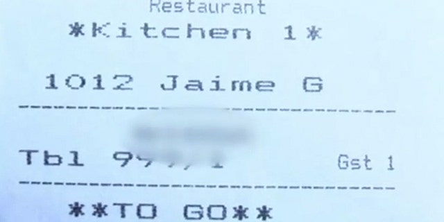 Georgia woman finds racial slur on takeout receipt: 'That's