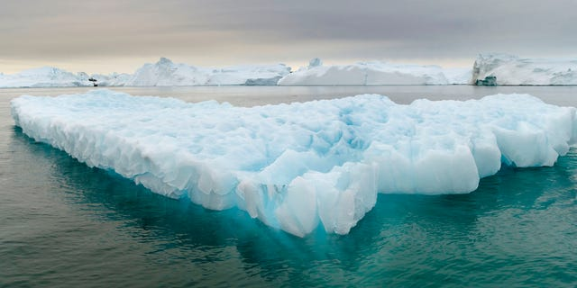 Ilulissat Icefjord at Disko Bay off the west coast of Greenland. (Martin Zwick/REDA&CO/Universal Images Group via Getty Images)