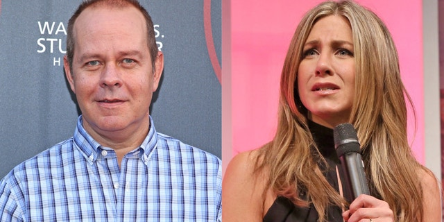 """James Michael Taylor, who played Gunther on """"Friends,"""" says he hasn't spoken to co-star Jennifer Aniston since the NBC hit's wrap party."""