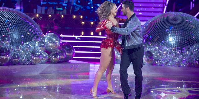 "Hannah Brown, of ""The Bachelorette"" fame, is paired with dancing pro Alan Bersten on this season of ""Dancing with the Stars."""