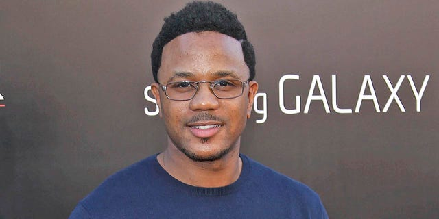 "This May 20, 2013 file photo shows actor Hosea Chanchez at the LA Premiere of ""The Hangover: Part III"" in Los Angeles. Chanchez says a friend's father sexually assaulted him in Alabama when he was 14 years old. Chanchez, who starred in BET's long-running series ""The Game,"" identifies his abuser as a college administrator who later worked at a state university in Pennsylvania and faced highly publicized accusations that he harassed and molested several male students."