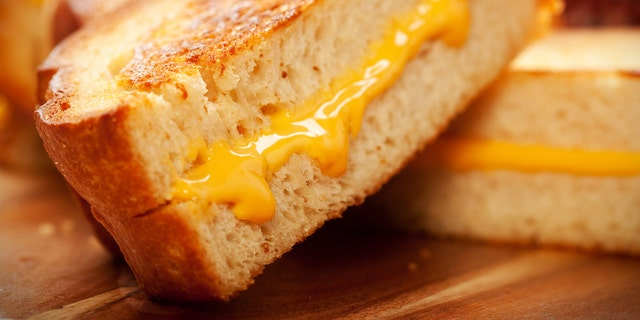 In the kitchen, Griffiths fills her sandwiches with grated Mature Cheddar and Red Leicester cheese, occasionally throwing in a side of cheese and chips, the Post reports. Sometimes, she'll melt the cheese on the bread for a grilled cheese-style snack.
